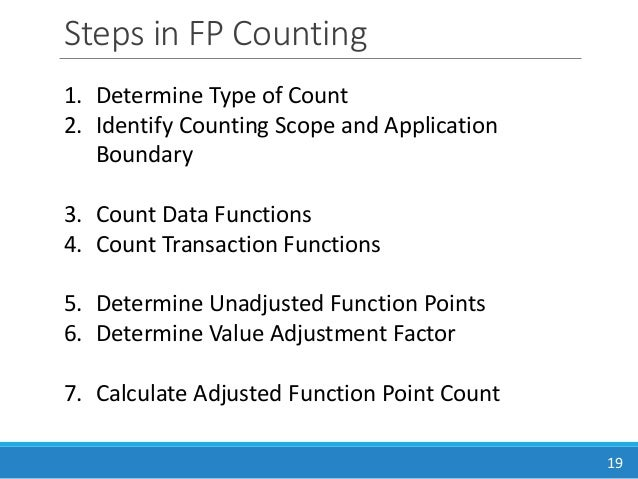 fp counting function points reference guide Basic functions ¶ contents basic (which is available in the numpy reference guide or by using the help end-points the real purpose of this function.