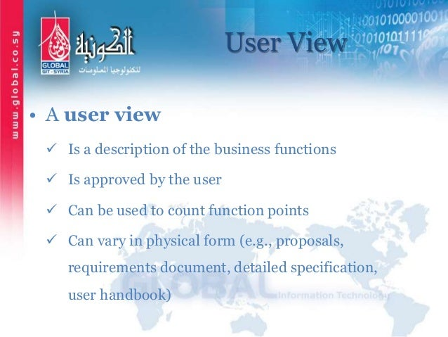 function point counting practices manual
