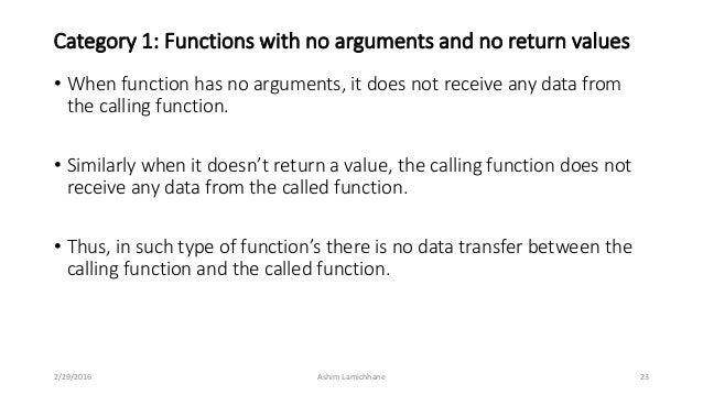Unit 7 functions function with arguments and return values 2292016 ashim lamichhane 22 23 malvernweather Choice Image
