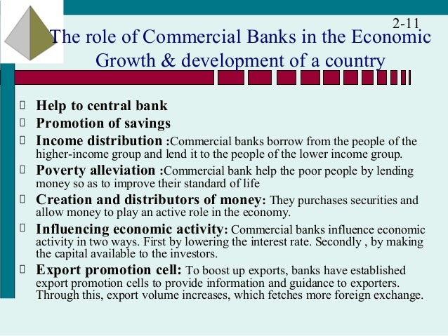 functions of commercial banks The variety of functions a commercial bank performs is so large in the industrial world of today that a precise definition to cover its activities is really difficult.