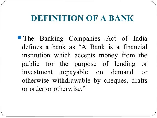 Functions of Commercial Banks
