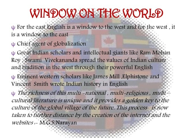 english a window to the world