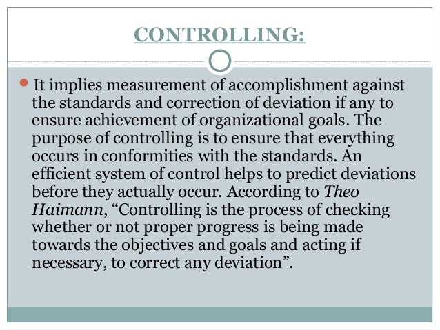 why the four steps involved in the controlling function are important Discussions discussion 1 steps of control explain why the four steps involved in the controlling function are important why is a good understanding of the various ratios used by.