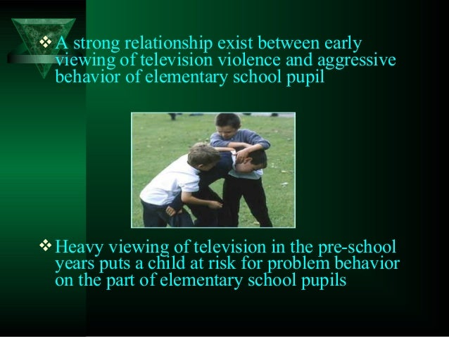 the effects of excessive television viewing Other studies have suggested a link between television viewing and antisocial behaviour, though very few have been able to demonstrate a cause-and-effect sequence.