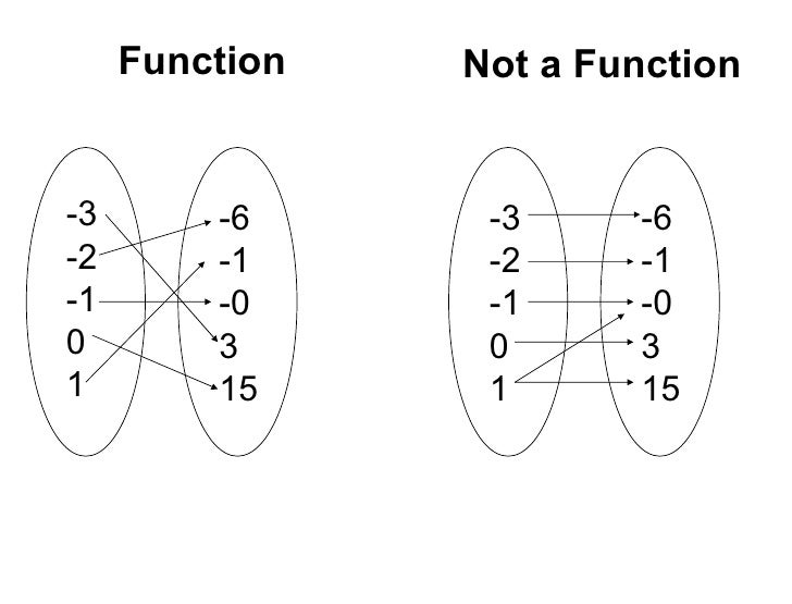 Function vs not function