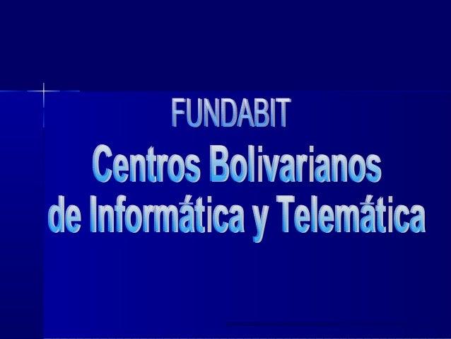 La Informática EducativaLa Informática Educativa en Venezuelaen Venezuela FortalezasFortalezas Currículo Básico Nacional (...