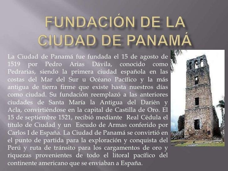Image result for fundacion de panama la vieja