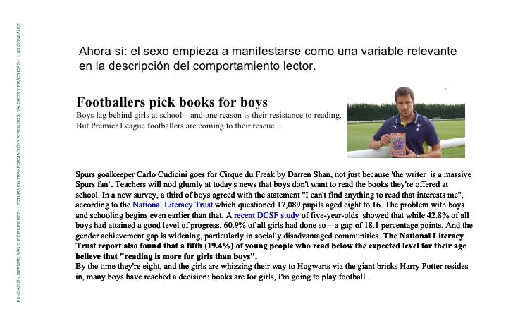 Footballers pick books for boys Boys lag behind girls at school – and one reason is their resistance to reading. But Premi...