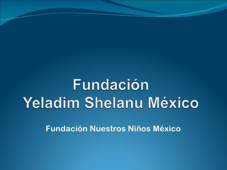 Fundación Nuestros Niños México