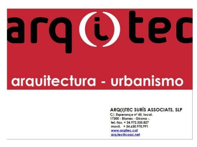 EL ASESORAMIENTOTÉCNICO– FUENTE DE CONFIANZA, CALIDAD Y AHORRO. - Que es Arq(i)Tec Suris Asociados SLP. Es una empresa de ...