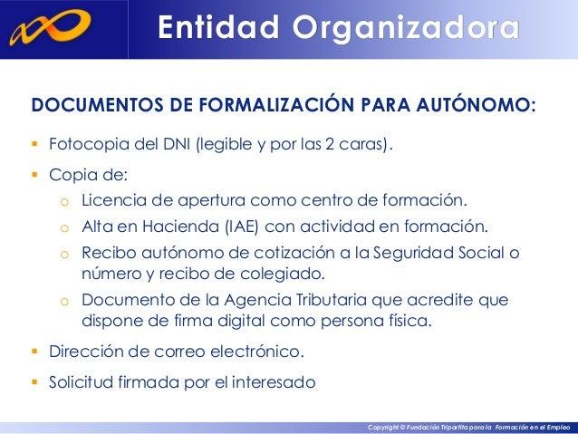 Bonificaci n de la formacion a trav s de la fundaci n for Diferencia entre licencia de apertura y licencia de actividad