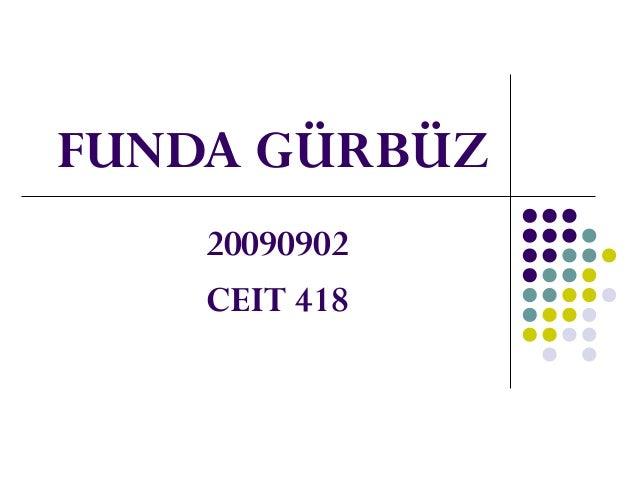 FUNDA GÜRBÜZ 20090902 CEIT 418