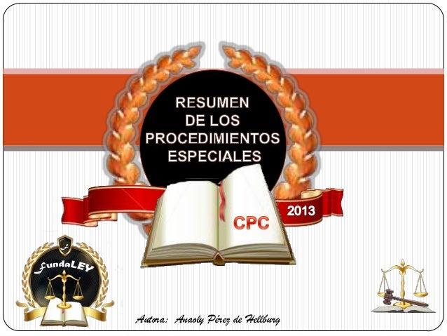 Autora: Anaoly Pérez de Hellburg