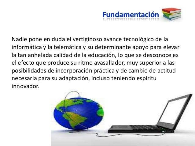 Fundamentación, objetivo y estrategias Slide 2