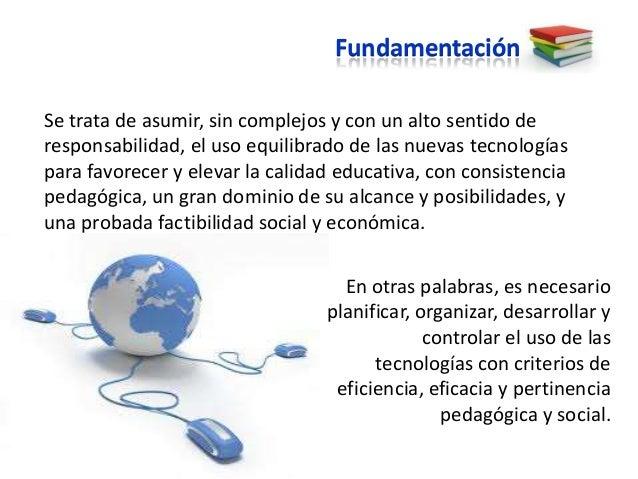 Fundamentación, objetivo y estrategias Slide 3