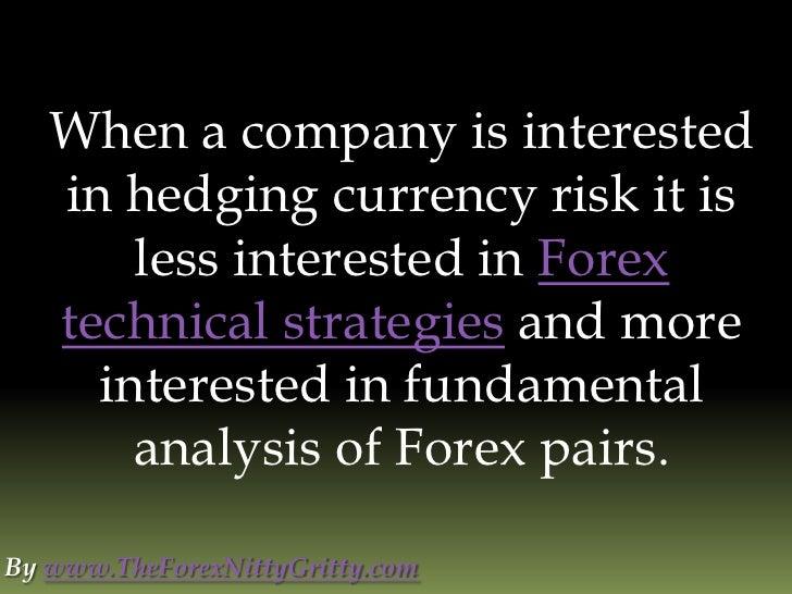 Fundamental analysis of forex