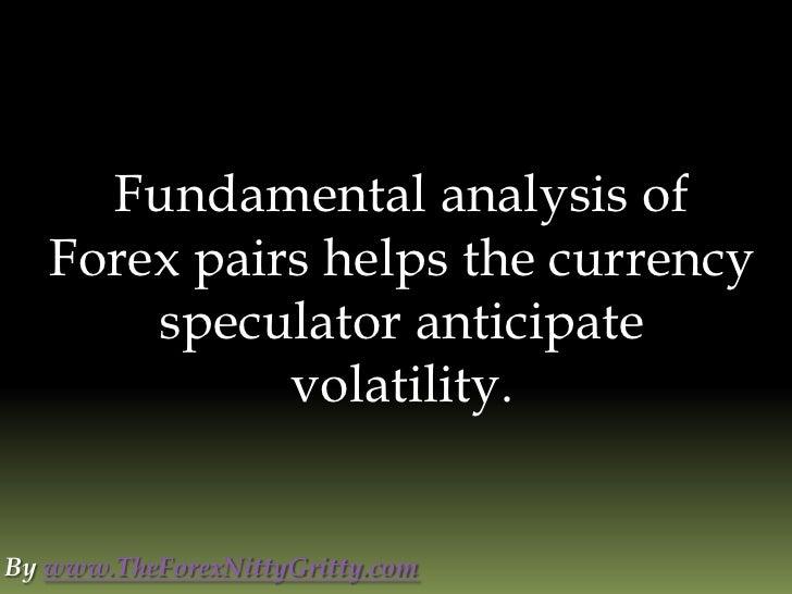 Forex fundamental analysis indicators pdf
