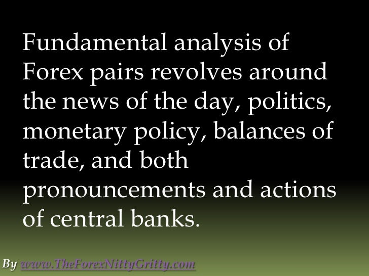 Forex news fundamental analysis