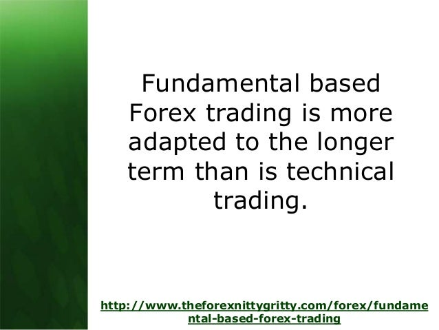 Fundamental forex