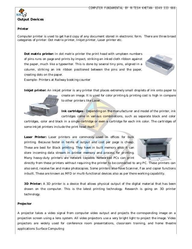 Fundamentals Of Computer Book Pdf