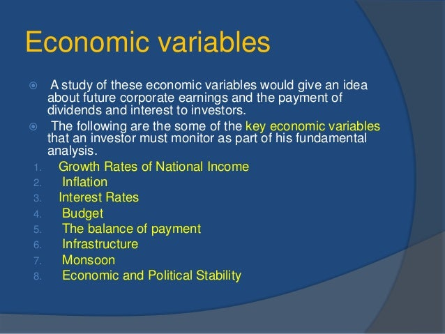 fluctuation in economic and financial variables Economic fluctuation and dividend policy in china  changes in economic conditions are often treated as extraneous variables in financial economics research.