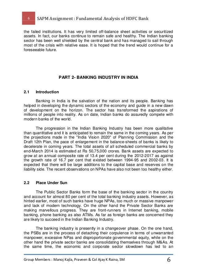 hdfc bank analysis Municipal financial ratio analysis  moody's assigns baa2 to hdfc bank's proposed masala bonds moody's investors service 20 feb 2018.