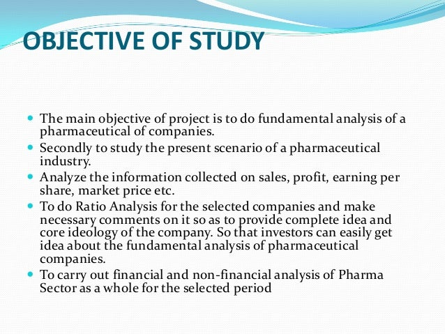 fundamental analysis of pharma sector