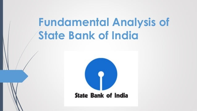 Technical analysis of sbi