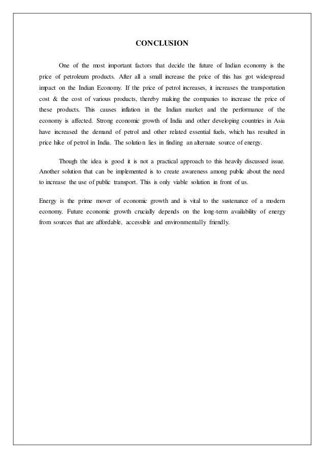 Fundamental and techincal analysis of crude oil