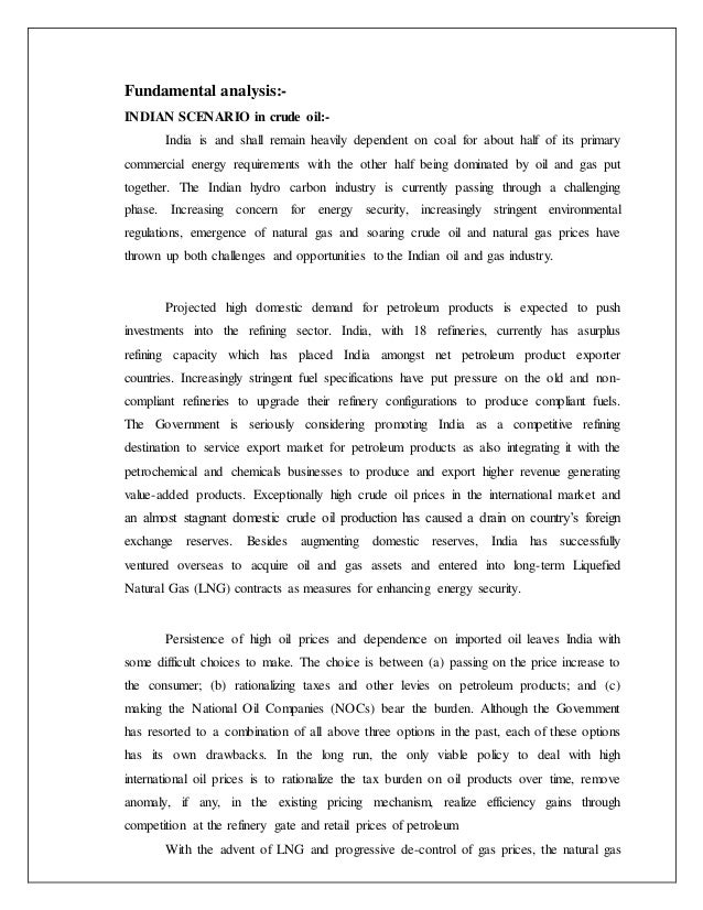 oman crude oil futures contract essay Dme oman (physically settled) crude futures contracts an explanation & an analysis of related credit risk ron wells.