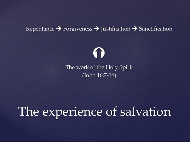 The Salvation Experience