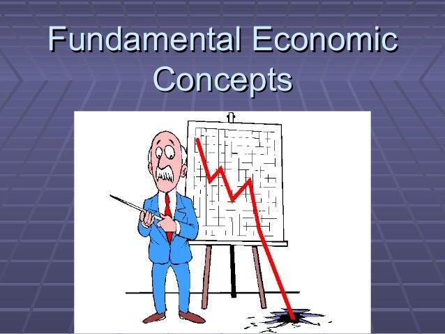Fundamental EconomicFundamental Economic ConceptsConcepts