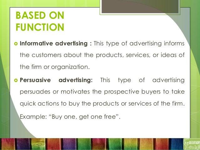 persuasive promotion examples