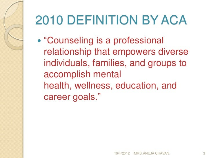 define councelling What is group counselinggroup counseling involves 4-8 students meeting with 1-2 trained counselor(s), typically once a.