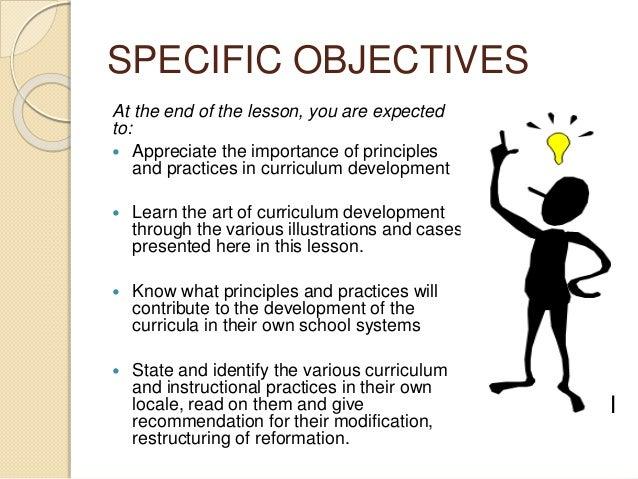 Fundamental principle of curriculum development and instruction Slide 2