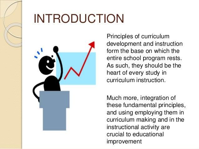 Fundamental principle of curriculum development and instruction Slide 3