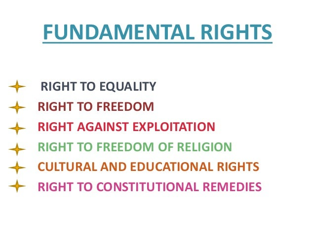assignment on the fundamental rights What fundamental rights ought to be extended to all persons what justifications can be employed for limiting someone's rights looking for these assignments.