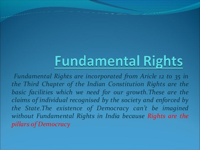 Fundamental rights and Education related articles in ...