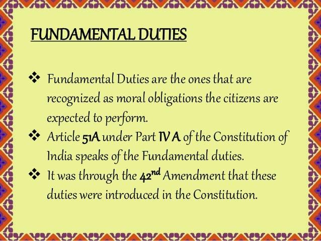 fundamental duties of a student in school