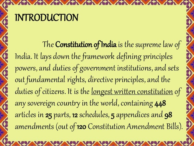 essay on indian constitution Free essay: the constitution defines our national goals of democracy, socialism and secularism, guarantees equality, liberty, justice, etc, to the citizens.