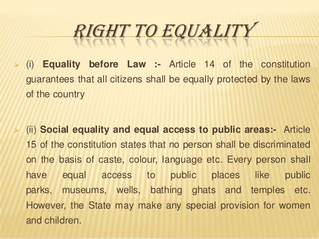 importance of freedom and equality of every citizen The role of civic education  should-engage every thoughtful citizen the five questions are:  could focus on the importance of civic education for every child.