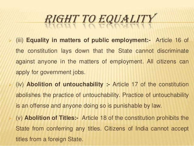 fundemental rights of india essay Get an answer for 'what are the 5 most important rights provided to citizens in a democratic state (captions and brief descriptions may be helpful here) include also a corresponding democratic responsibility that accompanies each right you have listed (again captions and brief descriptions may be helpful here.