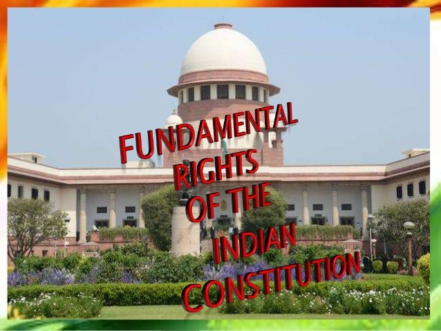 THE FUNDAMENTAL RIGHTS ARE DEFINED AS A BASIC HUMAN RIGHTS OF ALL THE CITIZENS THE CONSTITUTION OF INDIA GUARANTEED ELABOR...