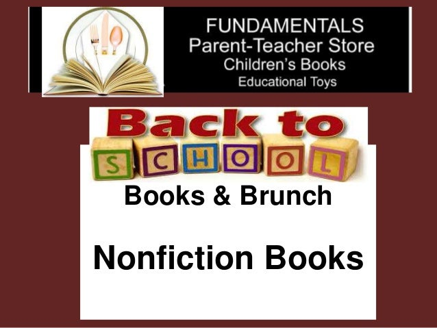 Back to School Books & Brunch Nonfiction Books