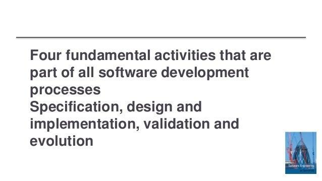 Fundamental Software Engineering Activities