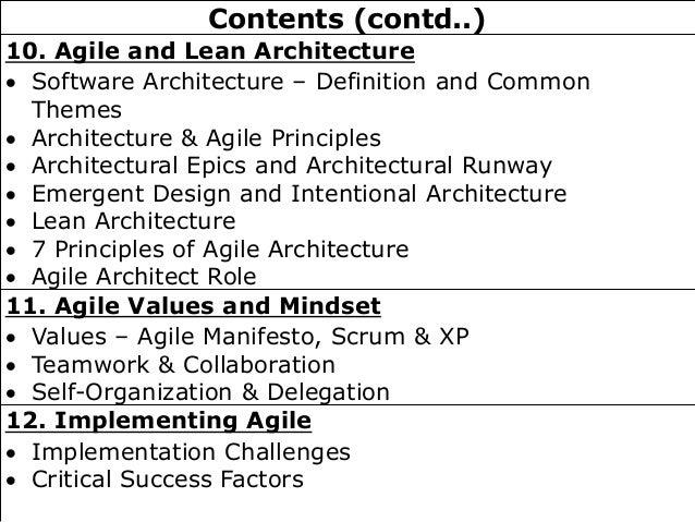 Architectural runway definition for Architecteur definition