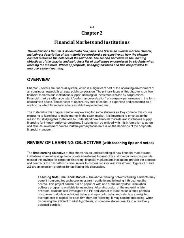corporate finance 9th edition mini case solutions
