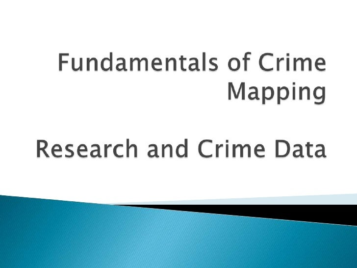 technology assessment on gis and crime mapping Geographic information systems and crime analysis in baltimore county, maryland by philip r canter baltimore county police department abstract: analytic mapping and geographic databases are being increas.
