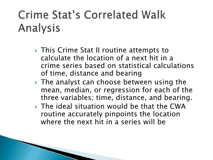 an analysis of the crime of