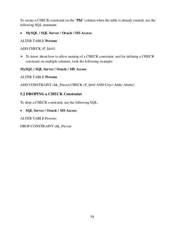 fundamentals of database systems laboratory manual rh slideshare net ms access 2007 lab manual ms access lab manual pdf